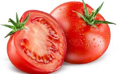 Cara menghilangkan jerawat pasir dengan tomat