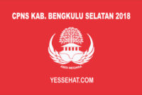 CPNS Kabupaten Bengkulu Selatan 2018