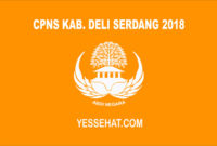CPNS Kabupaten Deli Serdang 2018