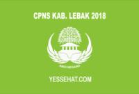 CPNS Kabupaten Lebak 2018