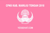 CPNS Kabupaten Mamuju Tengah 2018