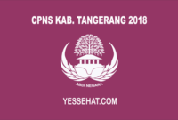 CPNS Kabupaten Tangerang 2018