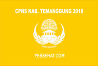 CPNS Kabupaten Temanggung 2018