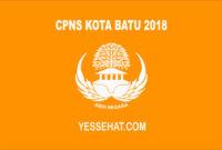 CPNS Kota Batu 2018