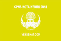 CPNS Kota Kediri 2018