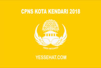CPNS Kota Kendari 2018