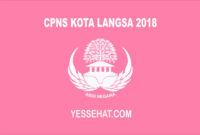 CPNS Langsa 2018