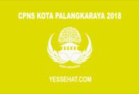 CPNS Kota Palangka Raya 2018