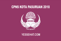 CPNS Kota Pasuruan 2018