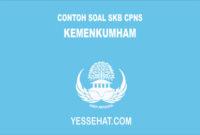 Contoh Soal SKB Kemenkumham 2018