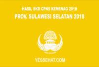 Pengumuman Hasil SKD CPNS Kemenag Sulawesi Selatan 2018