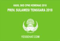 Pengumuman Hasil SKD CPNS Kemenag Sulawesi Tenggara 2018