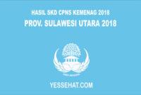 Pengumuman Hasil SKD CPNS Kemenag Sulawesi Utara 2018