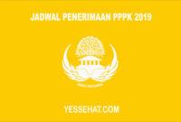 Jadwal Penerimaan PPPK 2019