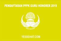 Pendaftaran PPPK untuk Guru Honorer 2019