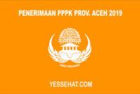 Informasi Penerimaan PPPK Provinsi Aceh Tahun 2019