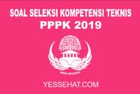 Contoh Soal Tes Kompetensi Teknis PPPK / P3K 2019