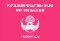 Link Situs Resmi Pendaftaran Online PPPK / P3K 2019