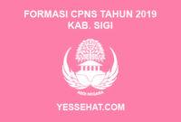 Formasi CPNS Kabupaten Sigi Tahun 2019
