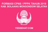 CPNS / PPPK / P3K Kabupaten Bolaang Mongondow Selatan 2019