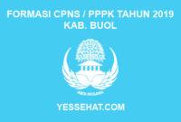 Formasi CPNS / PPPK / P3K Kabupaten Buol 2019