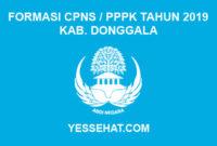Formasi CPNS / PPPK / P3K Kabupaten Donggala 2019