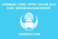 Formasi CPNS / PPPK / P3K Kabupaten Seram Bagian Barat 2019